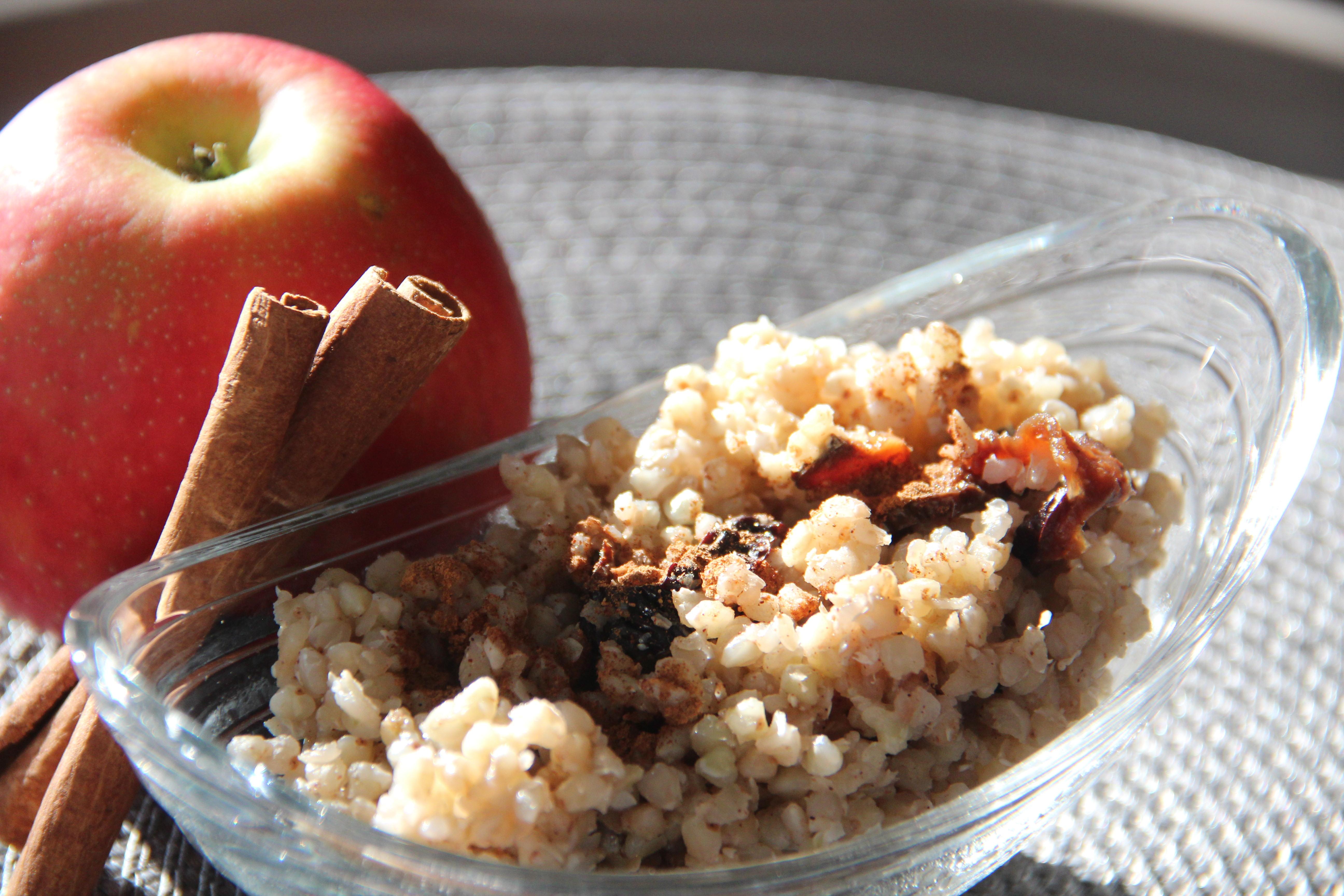Photo of Kasza gryczana z jabłkiem i cynamonem