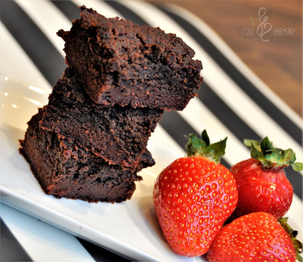 Mocno czekoladowe brownie z buraków