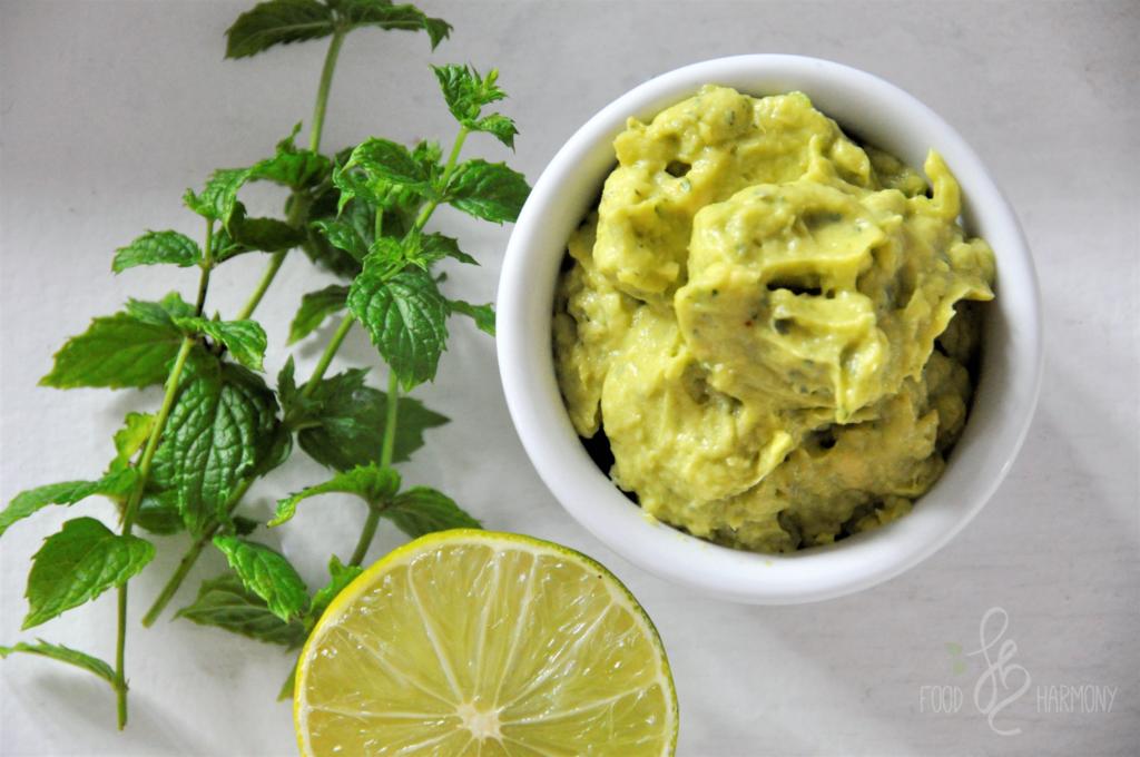 Dip miętowo-limonkowy