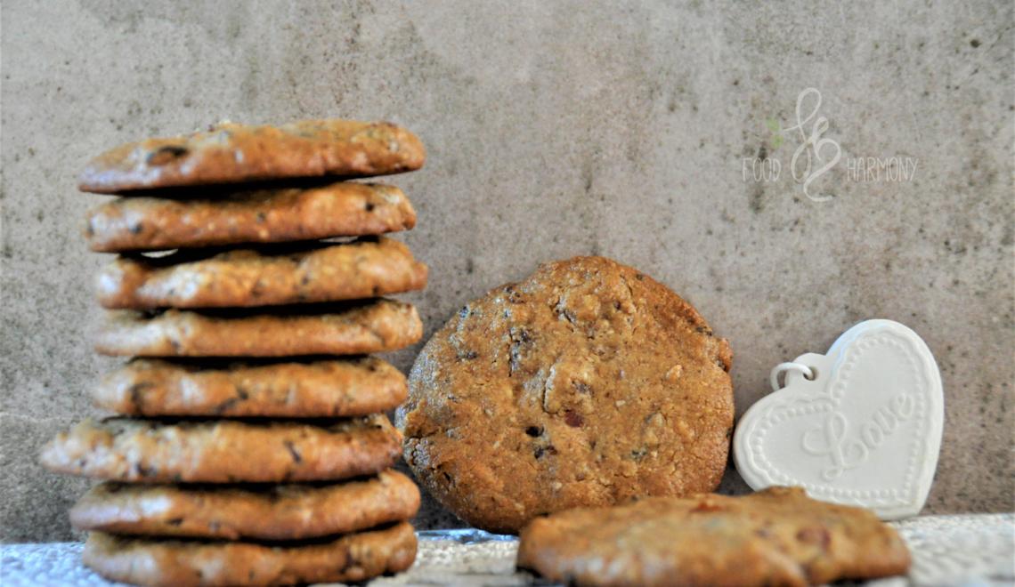 Ciasteczka migdałowo-orzechowe