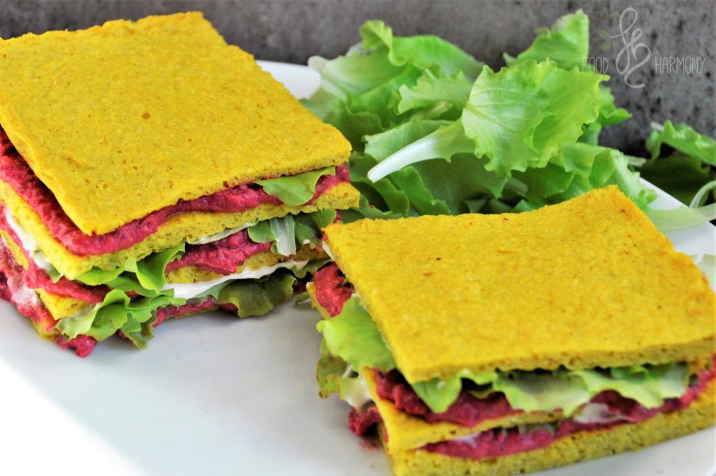 Wege sandwich z kalafiora