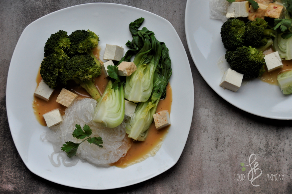 Azja ekspress - pok choi z miso i tofu