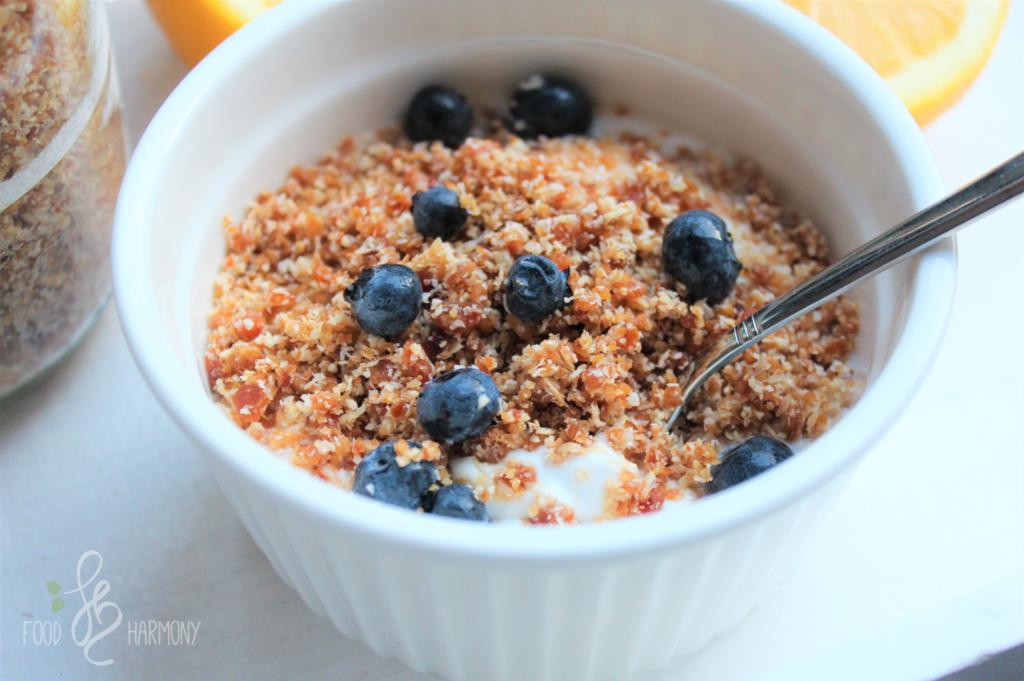RAWNOLA – czyli granola bez pieczenia