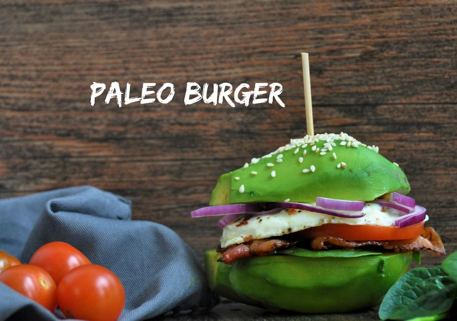 BURGER Z AWOKADO – Paleo Burger, dieta białkowo-tłuszczowa