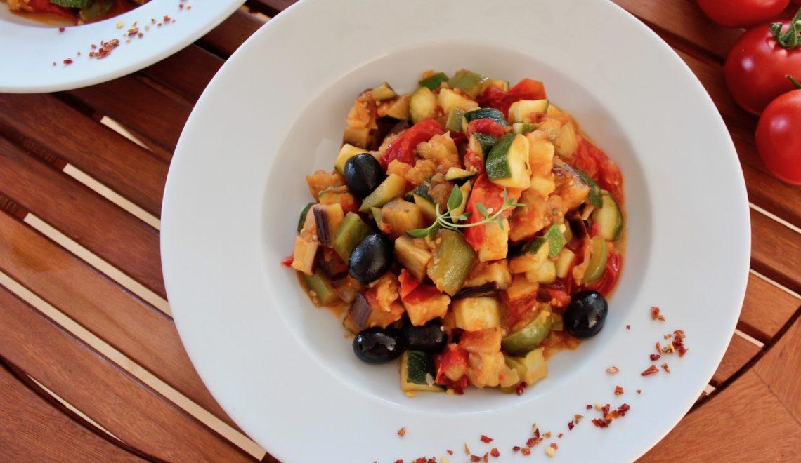 Warzywne Ratatouille – warzywny gulasz prosto z Francji