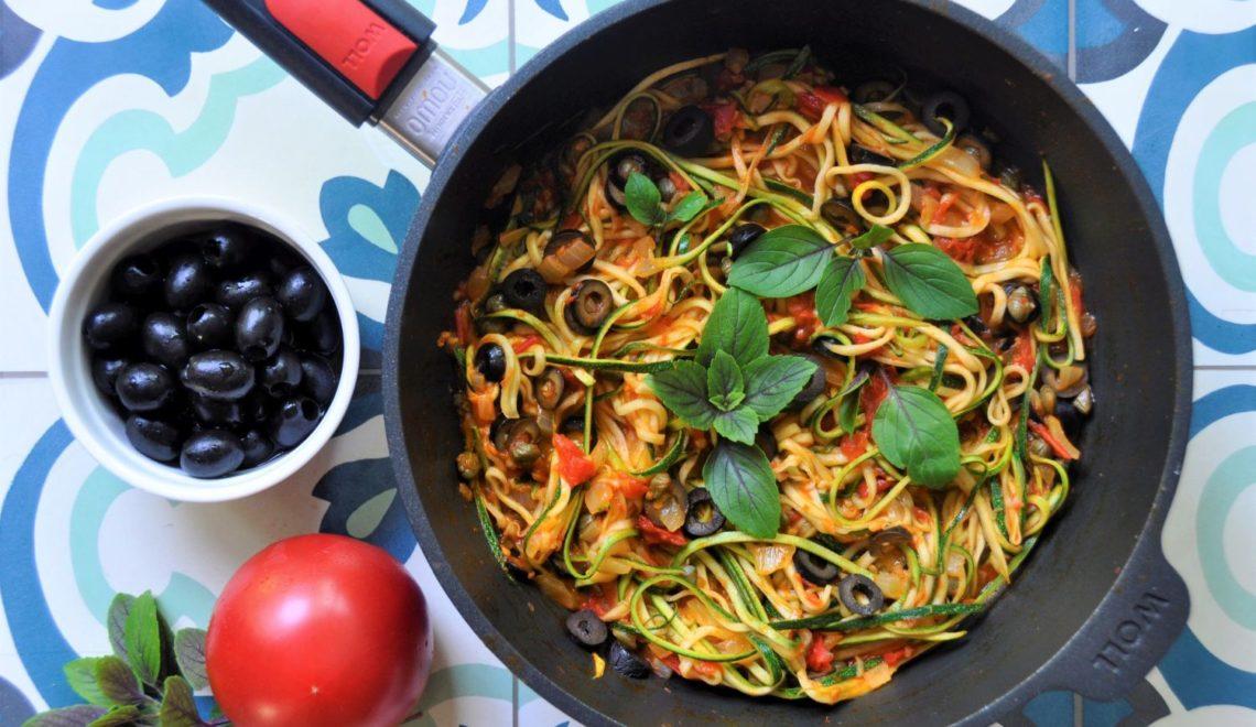 Spaghetti z cukinii – lekkie, wegańskie i bezglutenowe