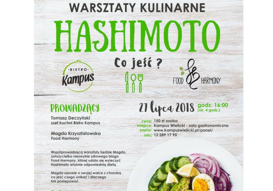 Warsztaty Kulinarne – HASHIMOTO – Co jeść?