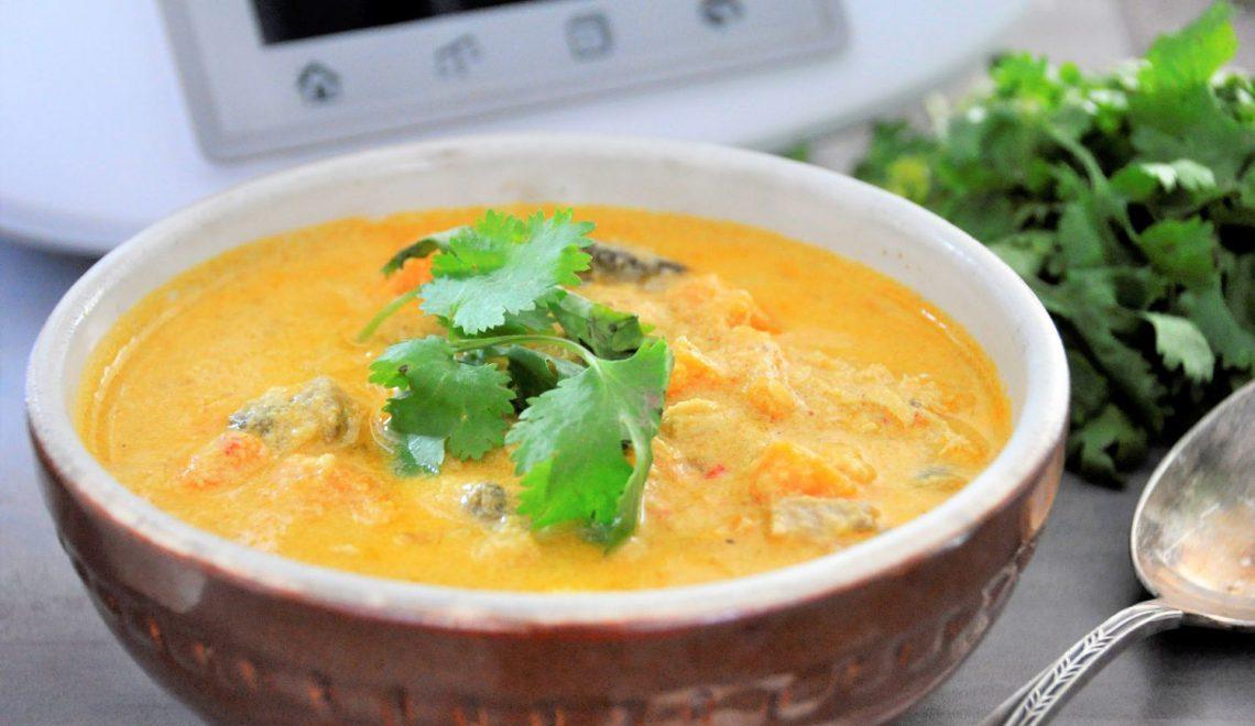 Proste curry z batatami – jednogarnkowy obiad na Thermomix