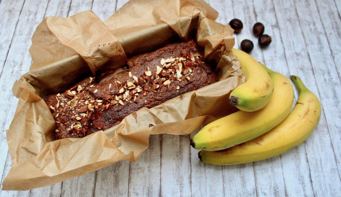 Bezglutenowy chlebek bananowy na Thermomix