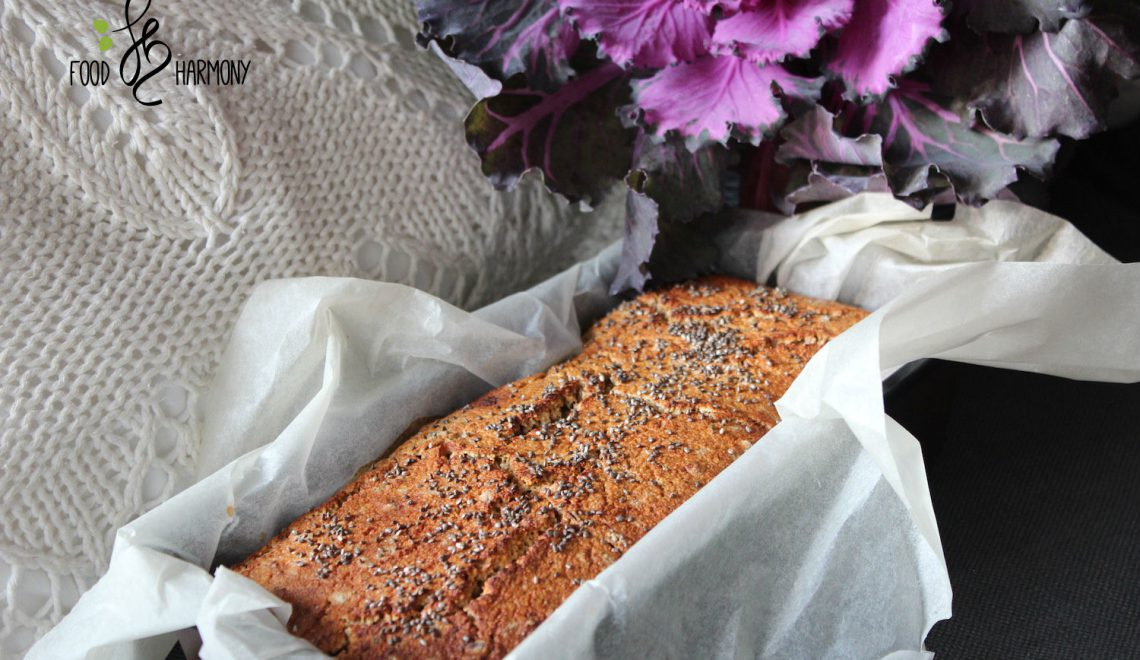 Chlebek jaglany na naturalnym zakwasie