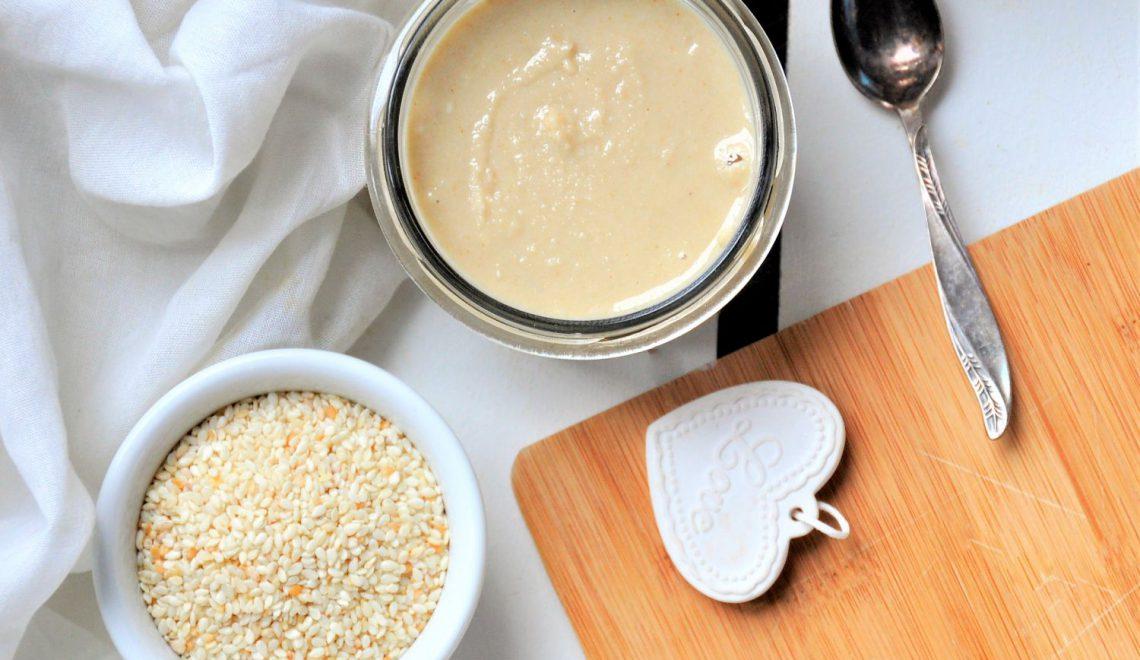 Tahini – pasta sezamowa na Thermomix