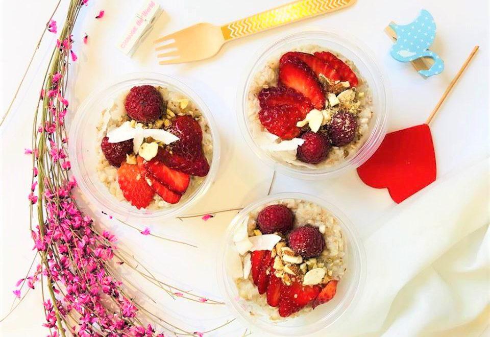 Migdałowa gryczanka – pomysł na bezglutenowe śniadanie