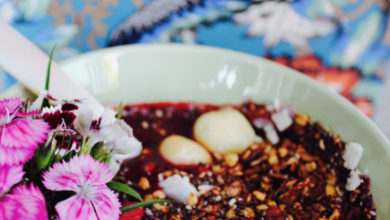 Photo of Leśne smoothie bowl