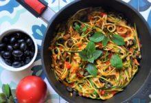 Photo of Spaghetti z cukinii – lekkie, wegańskie i bezglutenowe