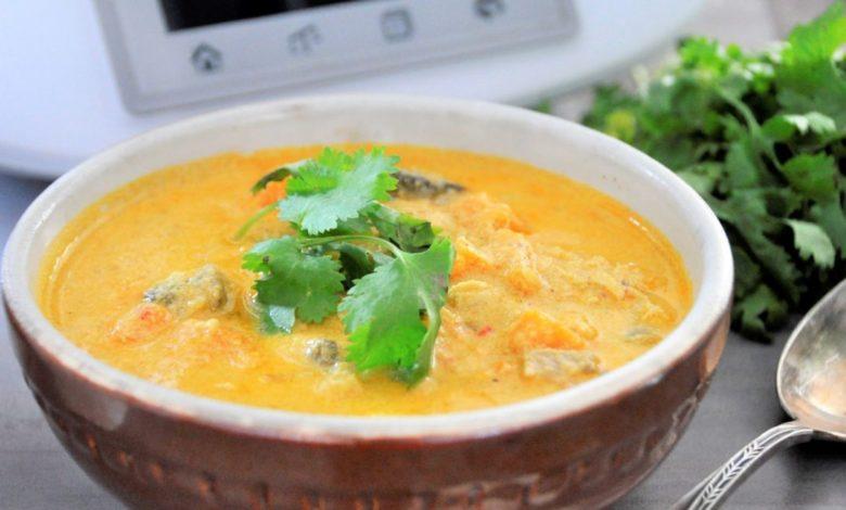 Photo of Proste curry z batatami – jednogarnkowy obiad na Thermomix