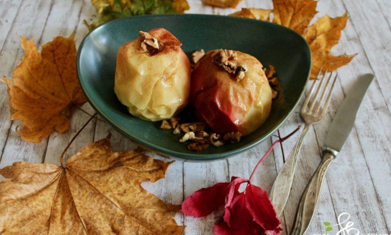 Photo of Fit deser dla cukrzyka – Jabłka z cynamonem na parze na Thermomix