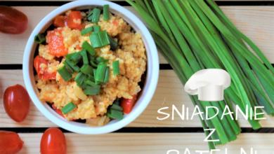 Photo of Szybkie śniadanie z patelni – kasza jaglana z warzywami