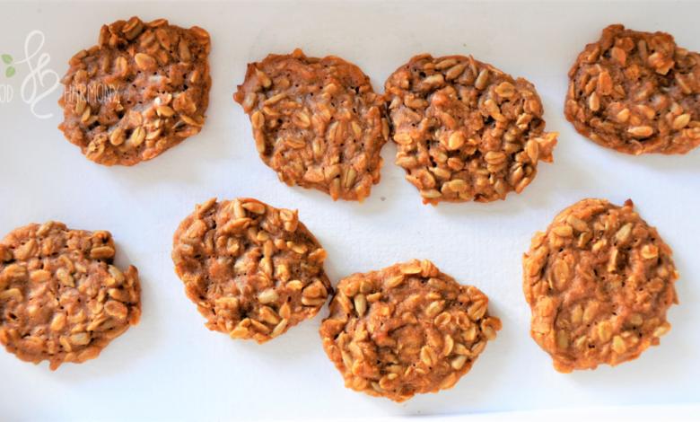 Photo of Śniadaniowe ciasteczka owsiano-cynamonowe