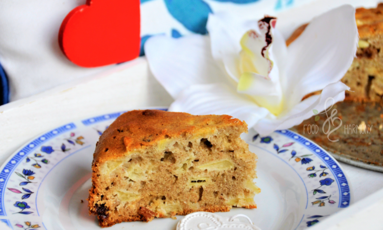 Photo of Ciasto jabłkowo-gryczane