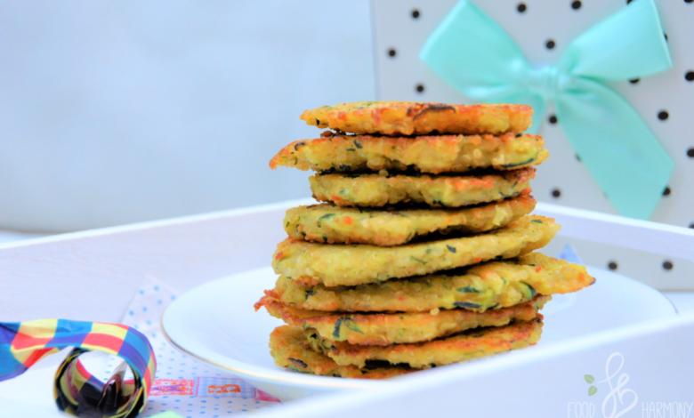 Photo of Placuszki z cukinii i komosy ryżowej