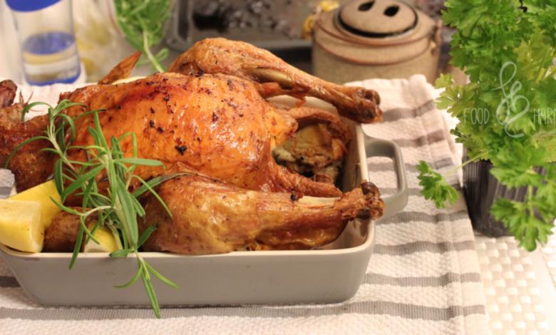 Photo of Pieczony kurczak z cytryną i rozmarynem