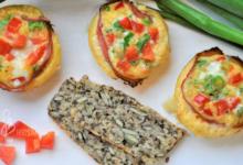 Photo of Śniadaniowe muffinki owinięte boczkiem – bez glutenu