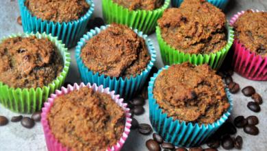 Photo of Muffiny kawowo-daktylowe – bez jajek