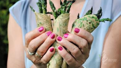 Photo of Naleśniki gryczane z ziołami i szparagami