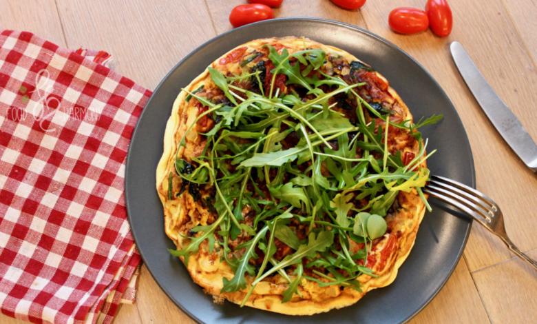 Photo of Śniadaniowa pizza – bezglutenowa, bez nabiału