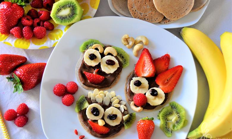 Photo of Placuszki gryczane z czekoladą i owocami