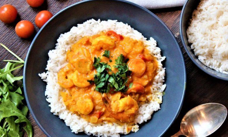 Photo of Tajskie curry z krewetkami