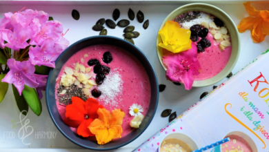 Photo of Wiśniowo-kokosowa smoothie bowl