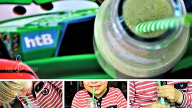 Photo of Dzieciaki piją zielone